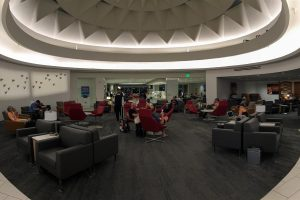 This is a very inviting space for an Admirals Club!