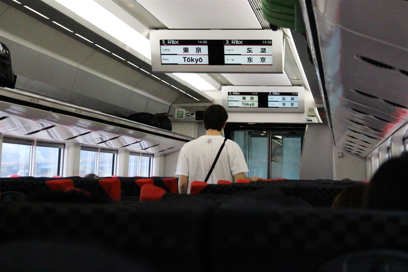 You can take the N'EX with the Japan Rail Pass. But that's a topic for another post.