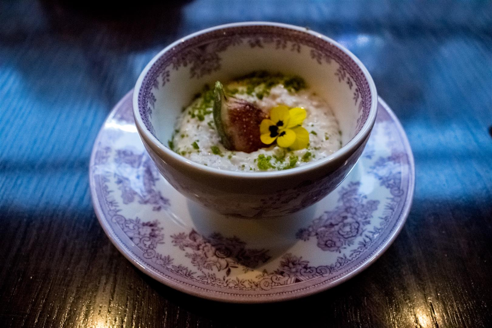 The Rice Pudding - Gymkhana easily puts all other rice puddings to shame!