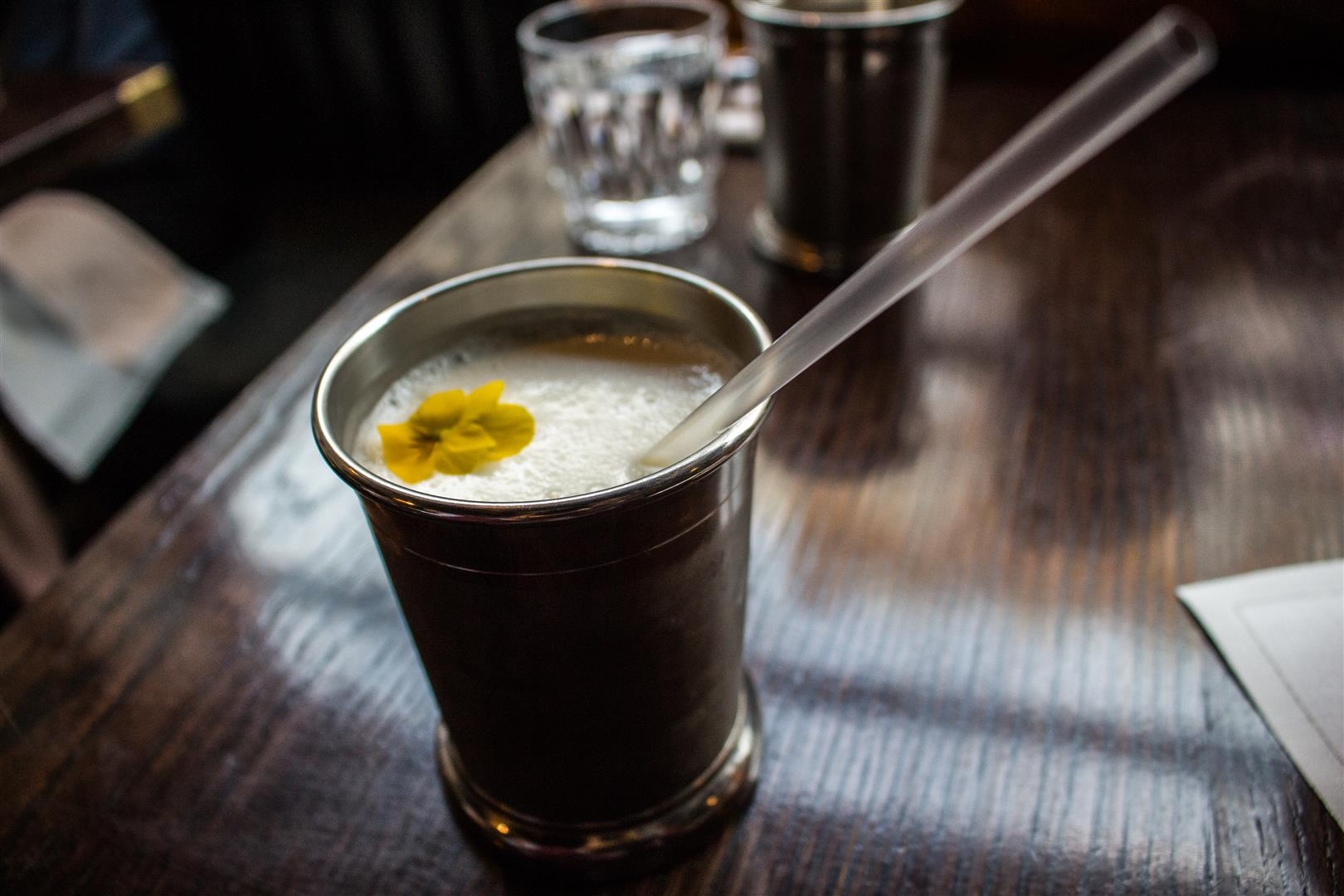 The Sweet Lassi - It is so simple, but they made it elegant!