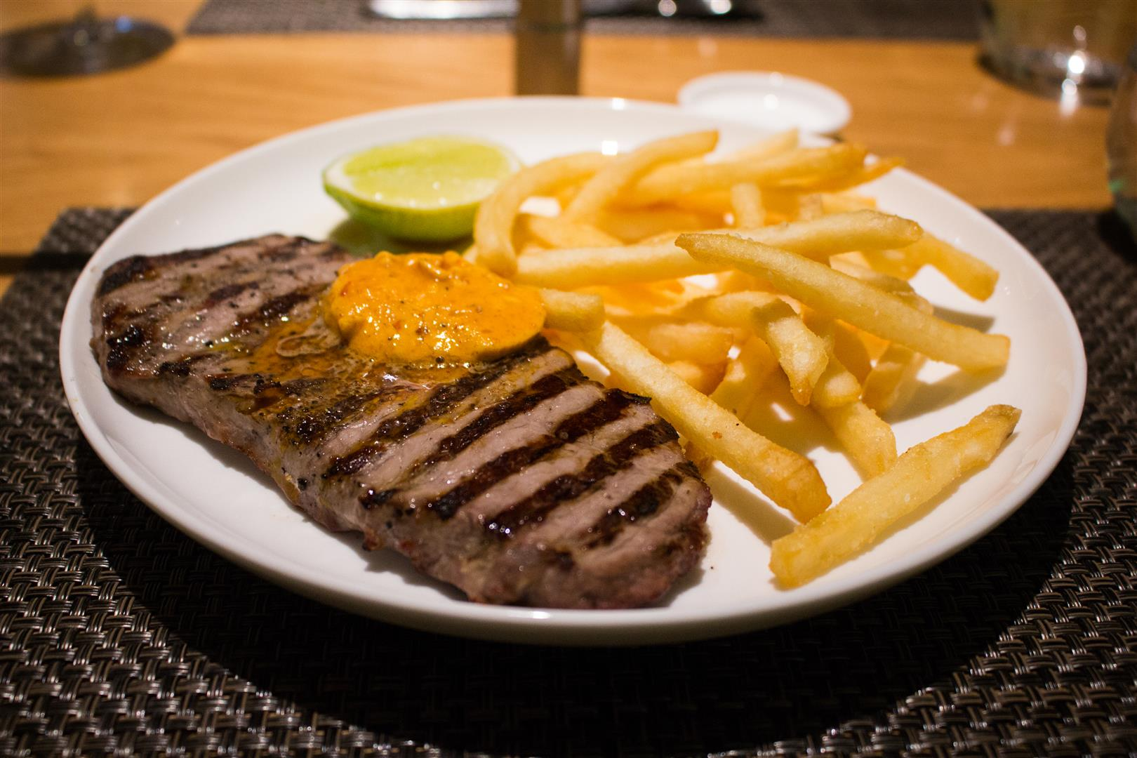 The Minute Steak with Chips