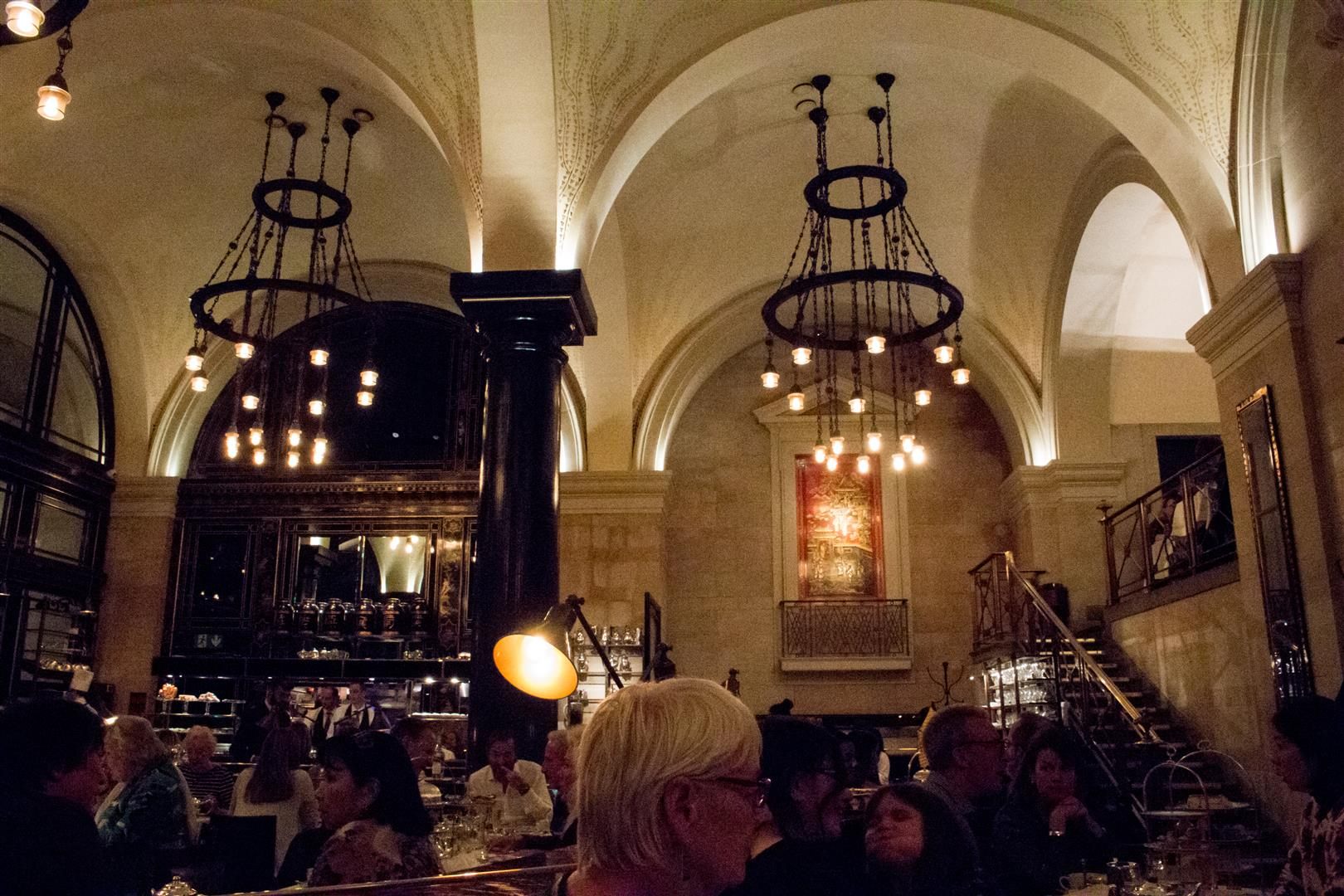 Admittedly, with the amount of people that night, I felt the arched ceilings amplified everyone's chatter. We were still able to comfortably speak across the table though!