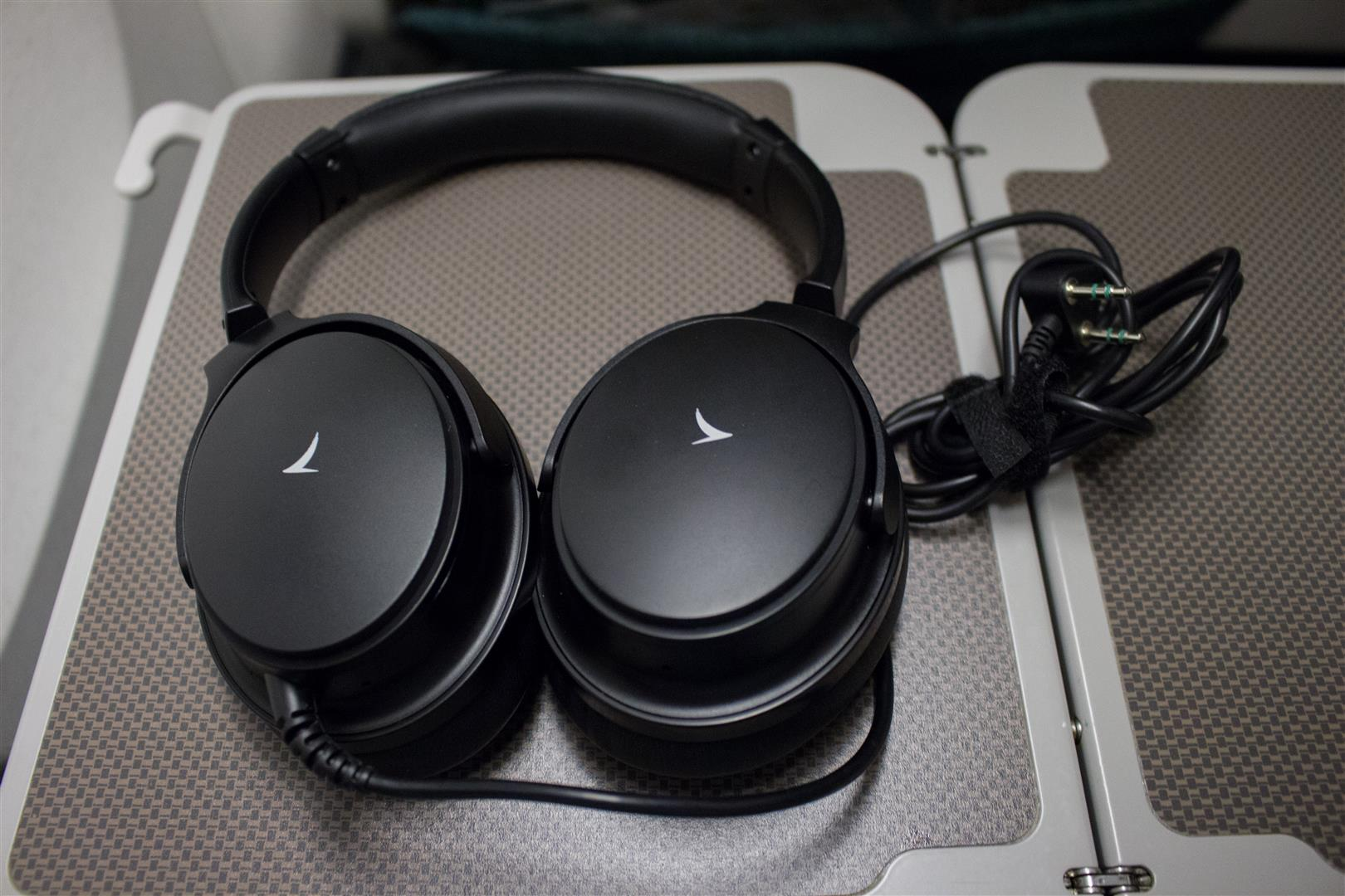 The Cathay Pacific Premium Economy Headphones