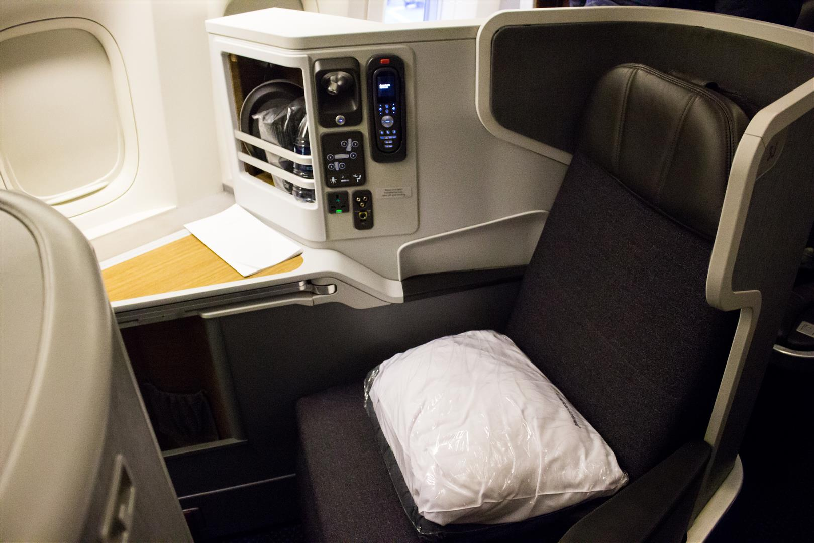 The AA Flagship Business Class Seat