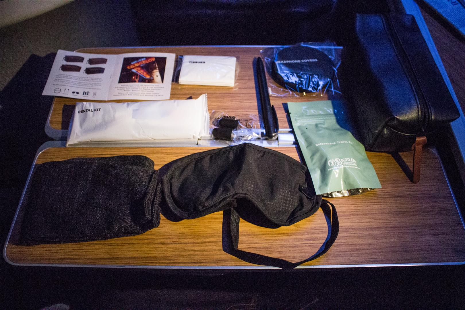 The Amenity Kit, all it needs now is a Swiss Army Knife