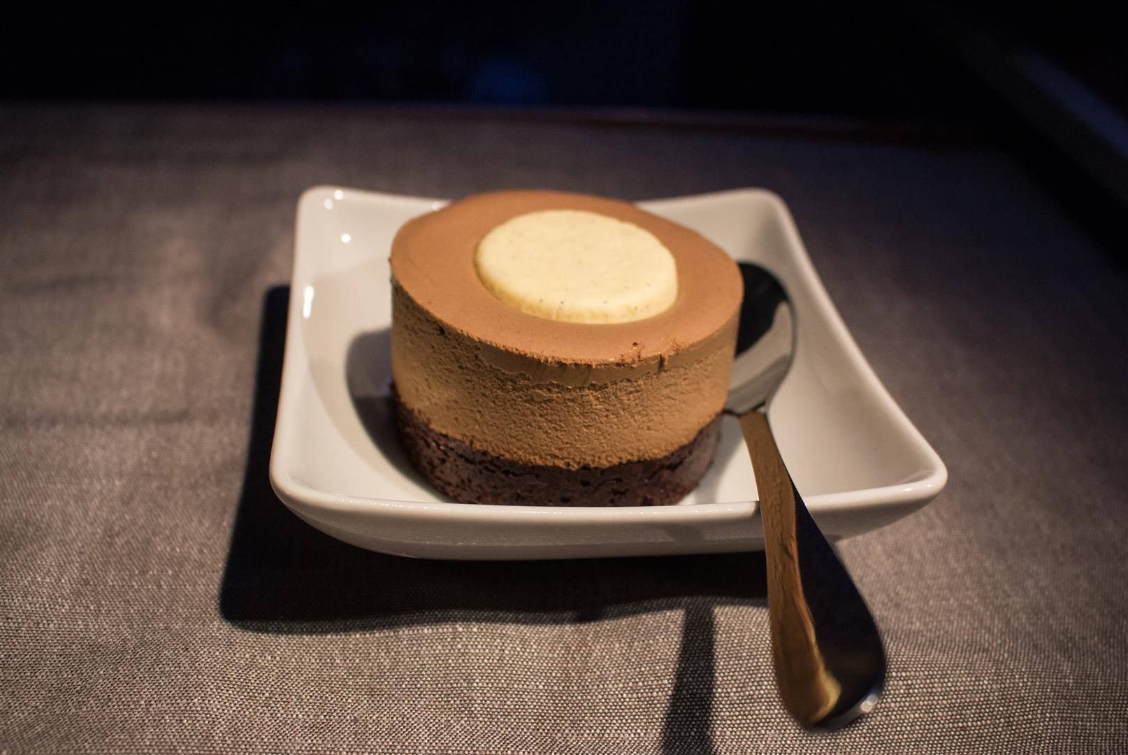 The Chocolate Mousse - was hoping for a bit more fluff...