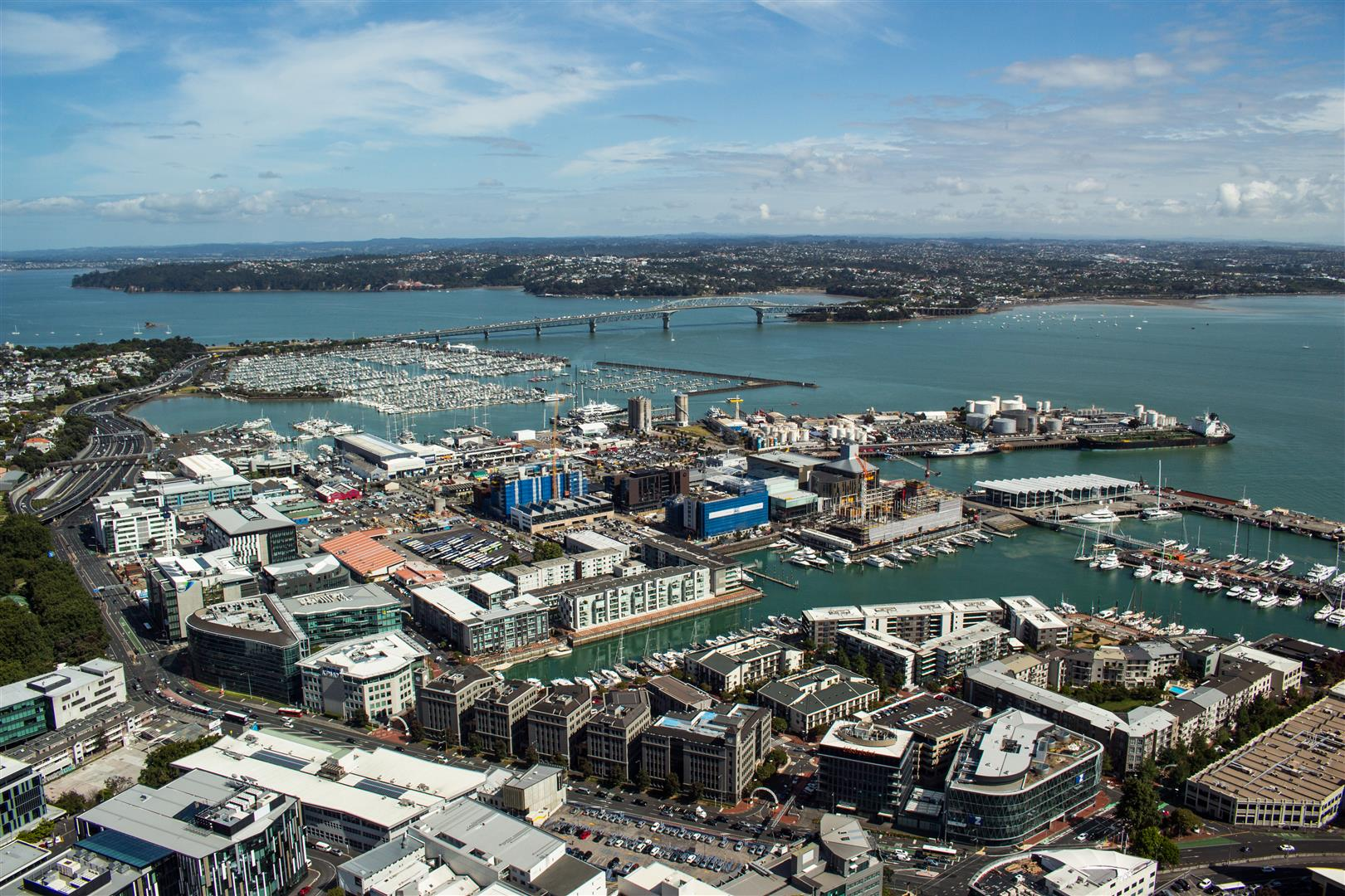 Glad I had a clear day, had a great 360-degree view of Auckland!