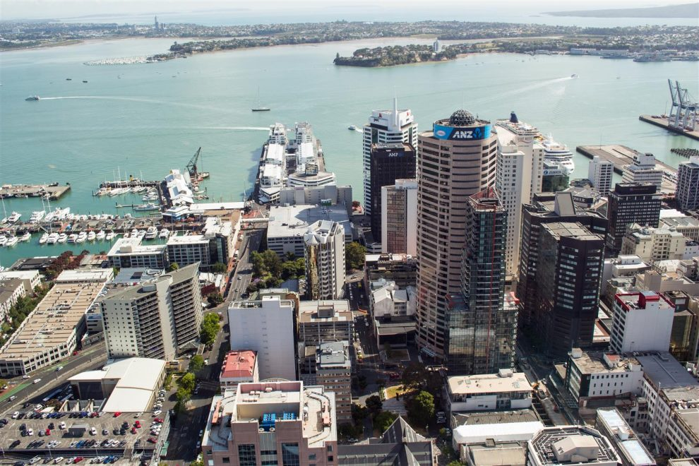 Downtown Auckland!